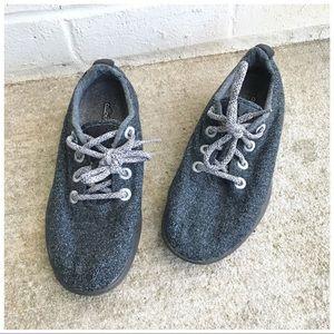 Allbirds Dark Grey Black Wool Runners Sneakers
